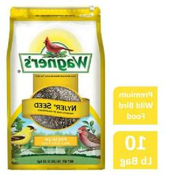 10 LB Wagner's Nyjer Wild Bird Food 10-Pound Bag Favorite Se