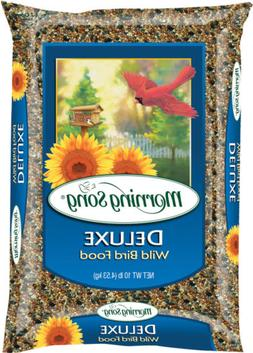 Morning Song 11353 Deluxe Wild Bird Food, 40-Pound, 40 lb