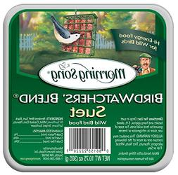 Morning Song 11431 Birdwatchers' Blend Suet Wild Bird Food,