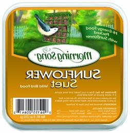 Morning Song 11454 Sunflower Suet Wild Bird Food, 9-Ounce