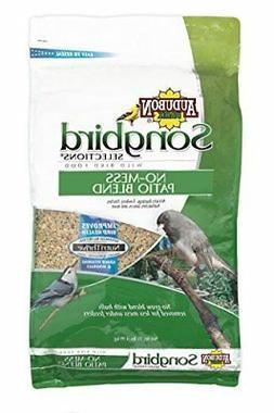 Songbird Selections 11986 No-Mess Patio Blend Wild Bird Food