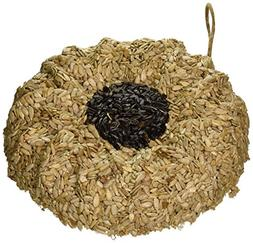 Pine Tree Farms 1363 Sunflower Shaped Seed Wreath, 3 Pounds