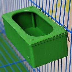 1PC Bird Parrot Food Water Bowl Pigeons Pet Cage Cup Feeder
