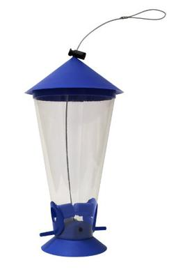 Heath Outdoor Products 21234 Blue Plastic Cone Mixed Seed Fe