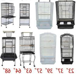 "19"" 23"" 30"" 37"" 39"" 46"" 57"" 63"" 68"" Small Large Bird Cage Pa"