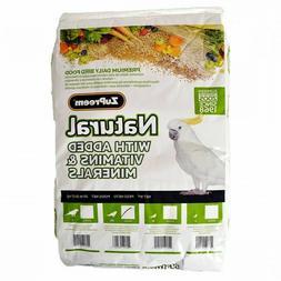 Zupreem 230356 Natural Medium/Large Bird Food, 20-Pound