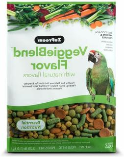 Zupreem 230361 Veggieblend Caged Medium And Large Bird Food,