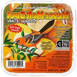 Pine Tree Farms 3012 Orange Never Melt Suet Dough, 12 Ounce