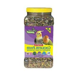 4.5 Lbs Bird Pet Cockatiel Food Pets Jar Nutritional Feeds C