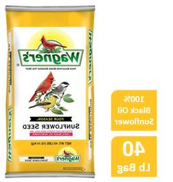 40 LB Wagner's Four Season Sunflower Wild Bird Food