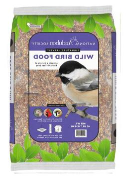 40-lb Wild Bird Seed Premium Blend Mix Food Bag, National Au