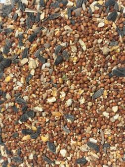 5 lb+ Bird Food Finch seed mix breeders Vitamin Enriched for