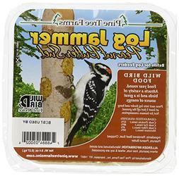 Pine Tree Farms 5002 Log Jammer Woodpecker Peanut Suet Plug,