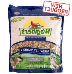 6 Lb Wild Bird Food Mix Sunflower Seed Feeds Bag 12 Variety