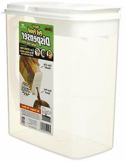 Buddeez 6-Quart Dispenser for Pet Food and Bird Seed