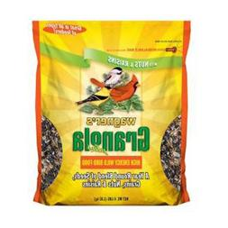 Wagner's 62061 Granola Plus High Energy Wild Bird Food, 4-Po