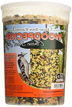 Pine Tree Farms 8002 Woodpecker Classic Seed Log, 76-Ounce