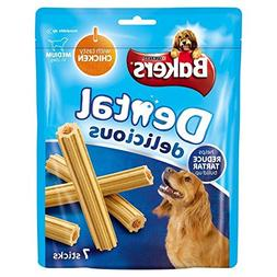 Bakers Dental Delicious Medium Dog Treats Chiclen 7 per pack