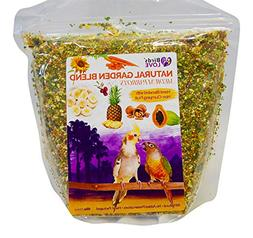 Birds LOVE All Natural Garden Blend Bird Food for Medium Bir