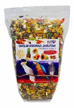 Birds LOVE All Natural Garden Blend Bird Food for Parrots 6l