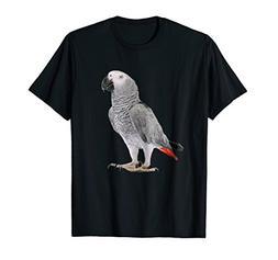 Funny African Grey Parrot Bird Shirt Womens Mens Kids