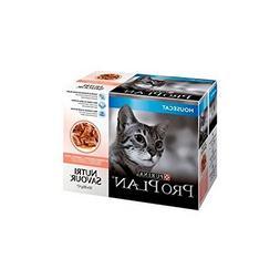 PRO PLAN Cat Housecat Nutrisavour with Salmon in gravy 10 x