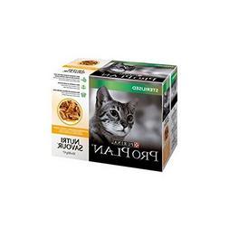 PRO PLAN Cat Sterilised Nutrisavour with Chicken in gravy 10