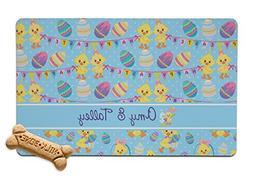 RNK Shops Happy Easter Pet Bowl Mat
