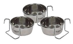 Stainless Steel 5 oz hanging pet bowl / cup / dish for food