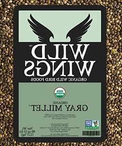 Wild Wings Organic Gray Millet Seed 5lb
