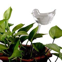 YAKU Automatic Potted Waterer Self Plant Watering Bird Glass