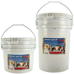 airtight pet food containers in 10 15