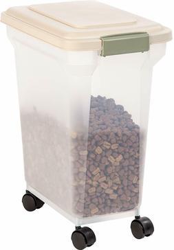 IRIS Premium Airtight Pet Food Storage Container, 22-Pounds