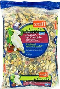 Hartz Amazon, African Grey, Cockatoo Large Bird Food - 4Lb
