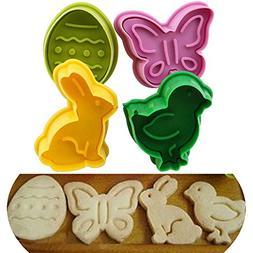 Animal Molds - Silicone Molds Animals - 4pcs/Lot Animal Shap