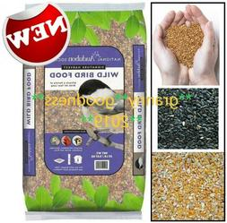 Wild Bird Food Audubon 20 Lb Premium Blend Mix Park Seed Blo
