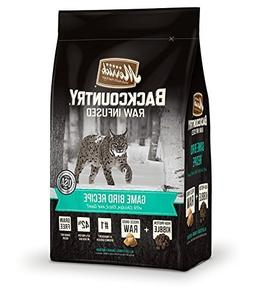 Merrick Backcountry Game Bird Recipe Dry Cat Food, 3 lb.