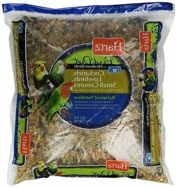 Hartz Cockatiel, Lovebird, Small Conure Medium Bird Food -5L