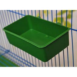 Bird Food Box Supply Birds Cage Plastic Feed Water Drinking