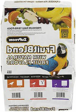 ZuPreem Bird/Parrot Food FruitBlend Fruit Blend 35 lb bag