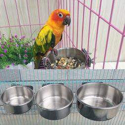 Bird Supplies Feeders Bowl Food Water Feeding Bird Parrot Cu