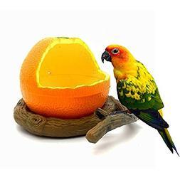 STAR-TOP Birds Feeder Bowl, Bird Food Feeding Bowl Feed Cup