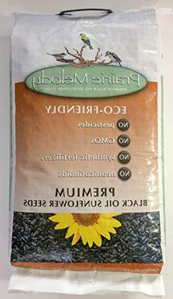 Prairie Melody Premium Black Oil Sunflower Bird Seed, Pestic