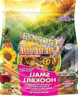 Brown's Tropical Carnival Biscuits Small Hookbill Bird Food