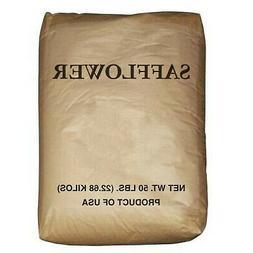 50 Lb. Bulk Bag Wagner's Safflower Wild Bird Food Seed Attra