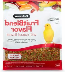 Canary Finch Pet Food Small Bird Fruit Blend Natural Flavor