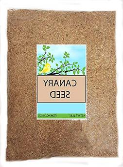 Sweet Harvest Canary Seed Alpiste Bird Food, 5 lbs Bag