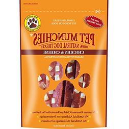 Pet Munchies Chicken & Cheese Dog Treats 100g