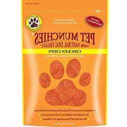 Pet Munchies 100% Natural Chicken Chips Dog Treats 100g