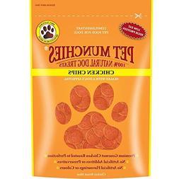 Pet Munchies 100% Natural Chicken Chips Dog Treats 100g